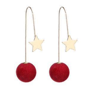PREVIEW! Ball Star Double Sided Threader Earrings